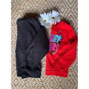 Garanimals 5T Two Sweatshirts